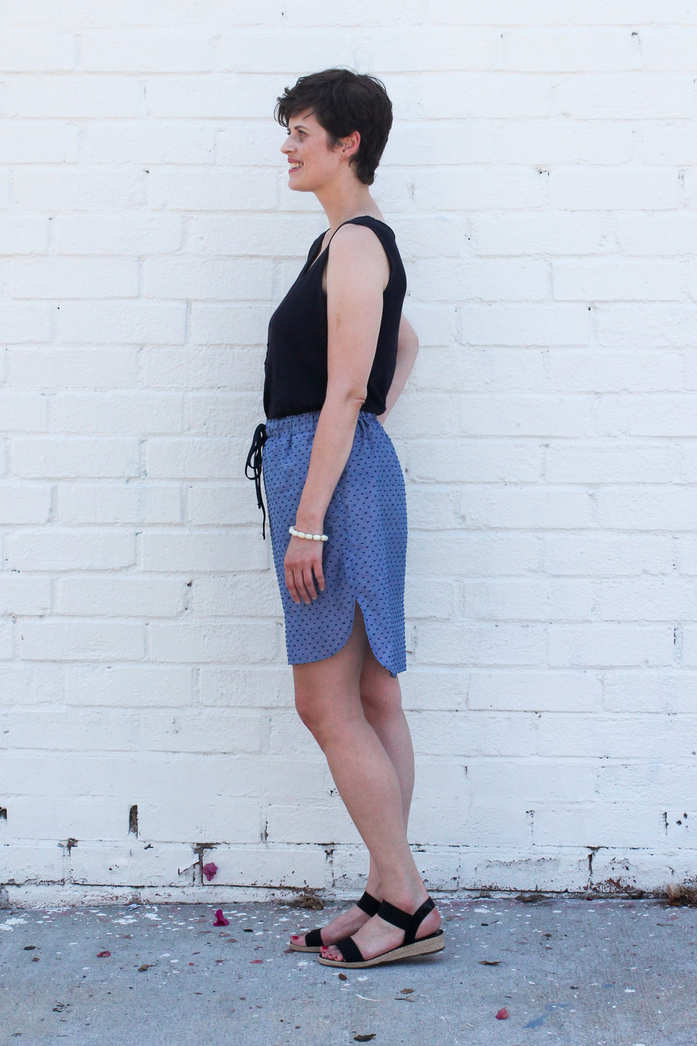 Baseball Skirt PDF Sewing Pattern | Sew DIY