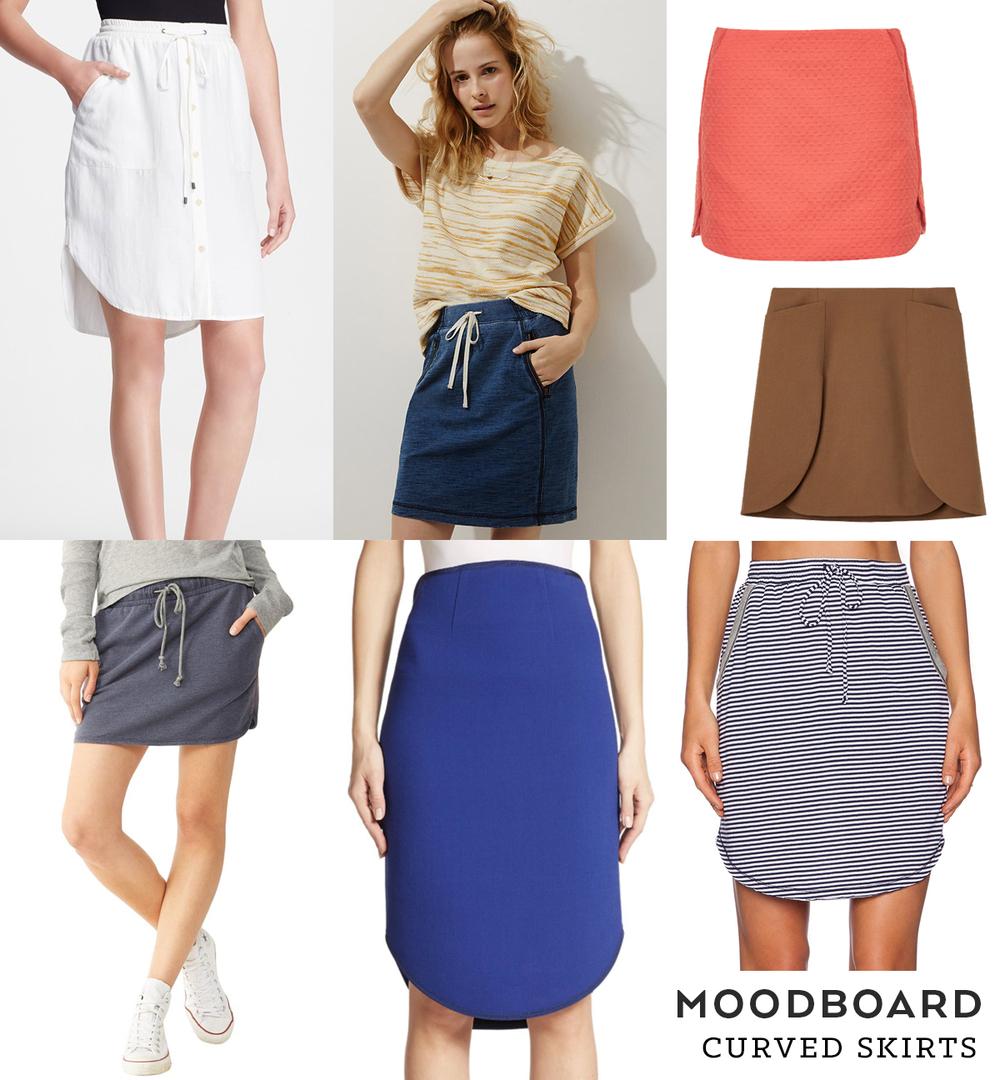 Moodboard Casual Skirts Sew Diy