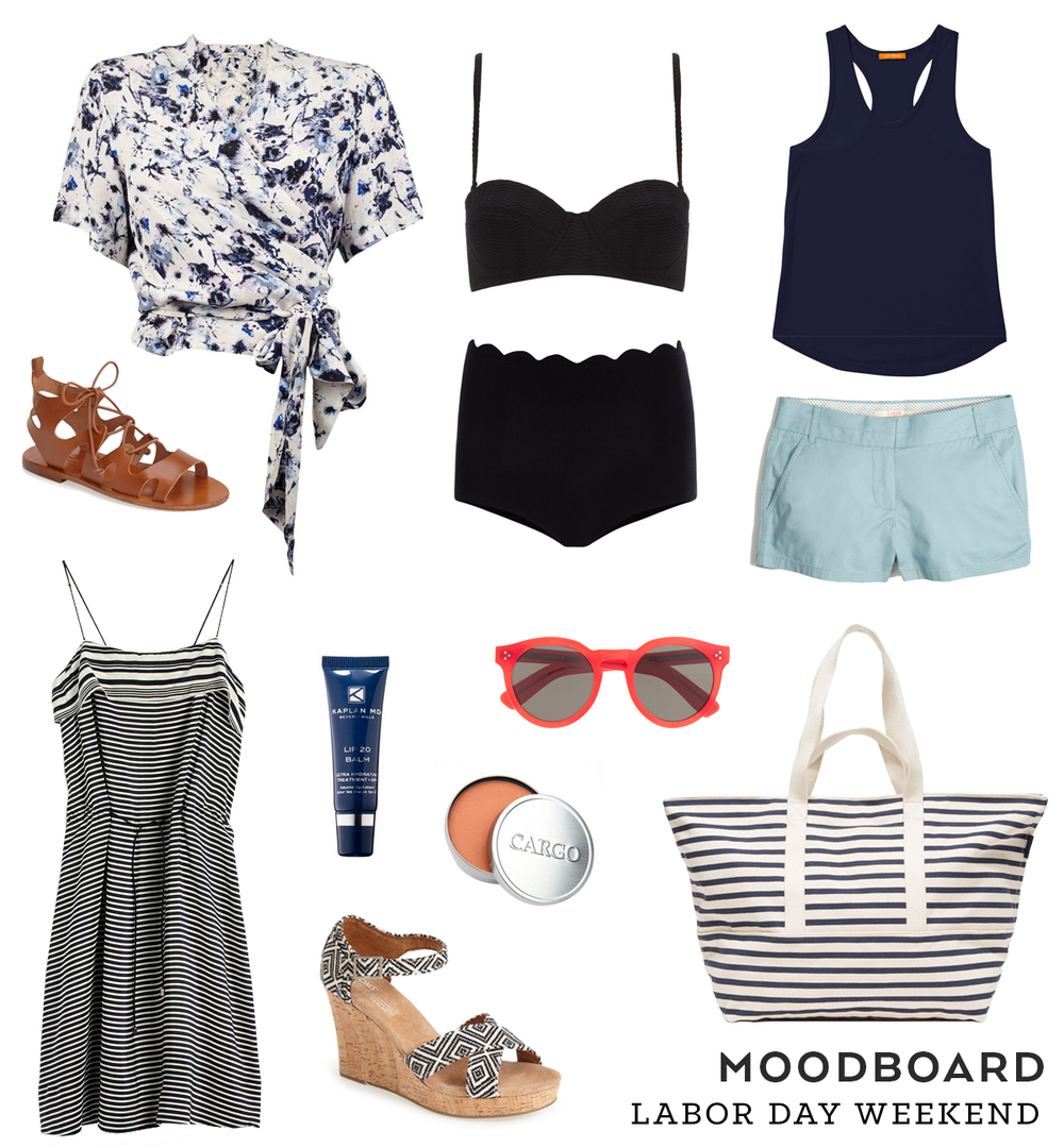 Labor Day Weekend Moodboard | Sew DIY