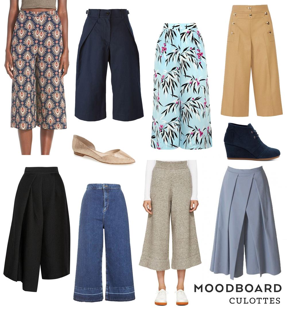 Moodboard –Culottes | Sew DIY
