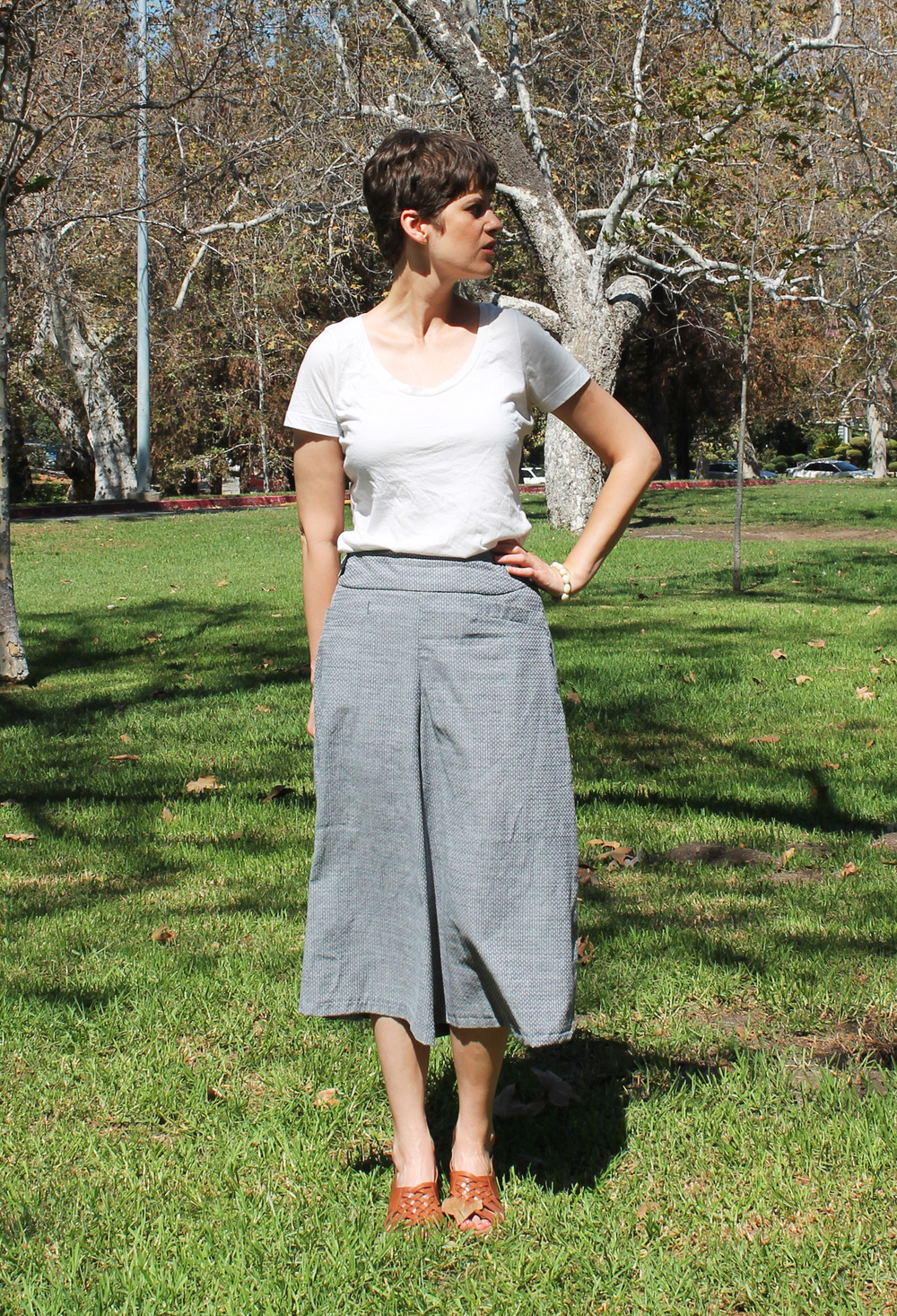 Chambray Culottes | Sew DIY