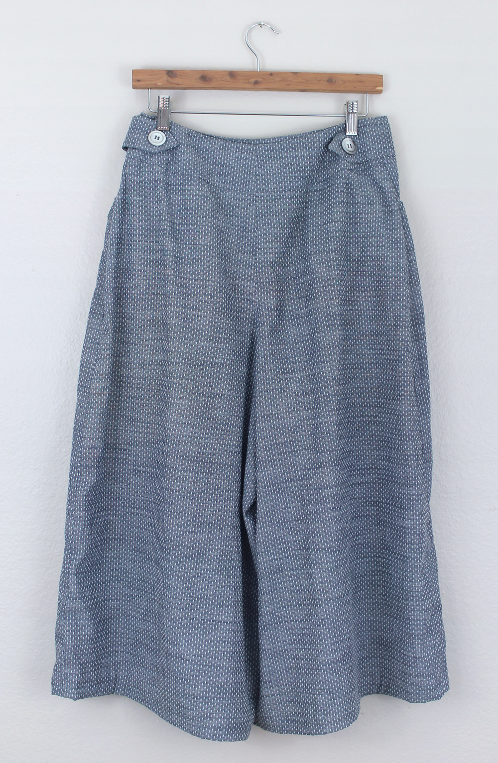 DIY Chambray Culottes | Sew DIY