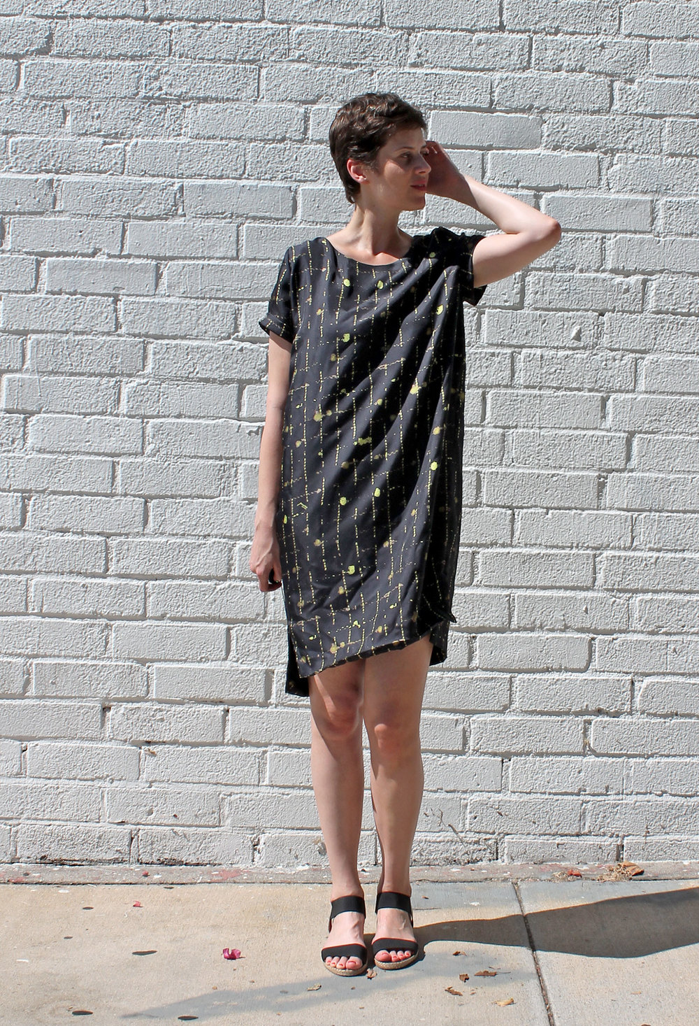 DIY Silk Cocoon Dress | Sew DIY