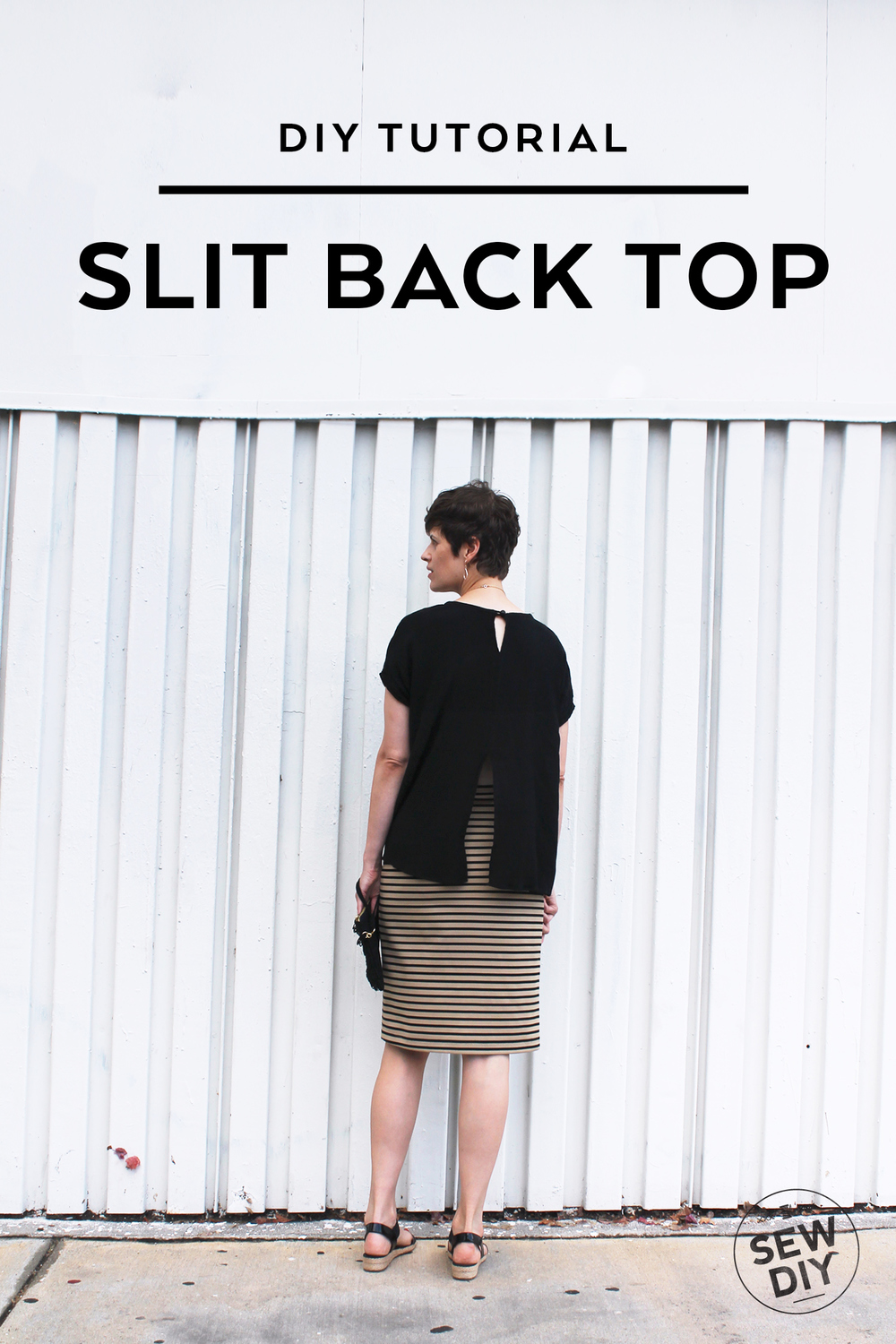 DIY Tutorial – Slit Back Top | Sew DIY
