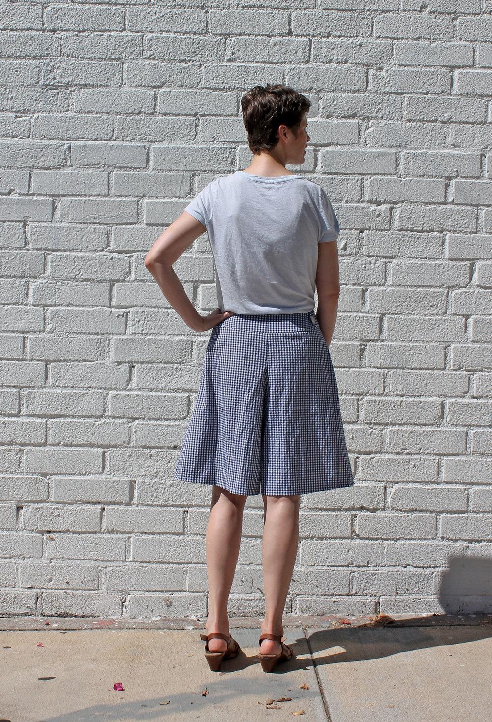 DIY Gingham Culottes | Sew DIY