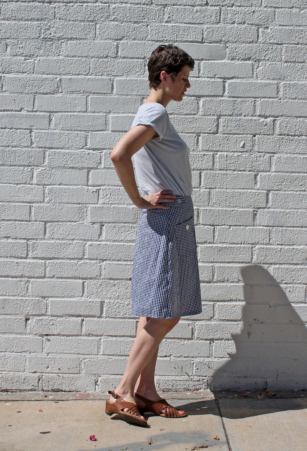 DIY Gingham Emily Culottes | Sew DIY