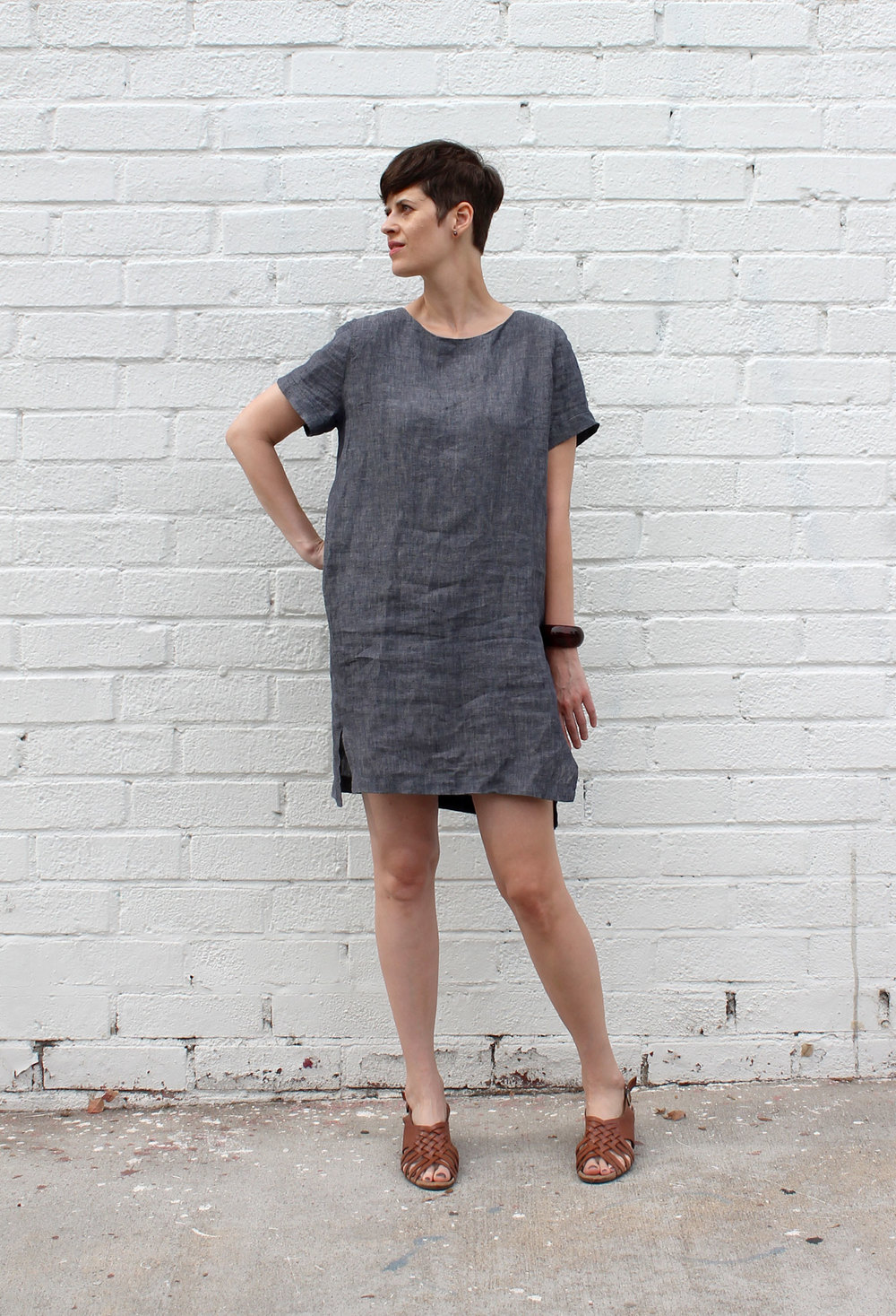 DIY Linen Cocoon Dress | Sew DIY