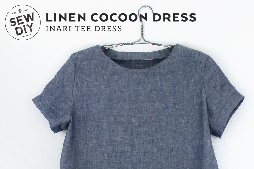 Diy Linen Cocoon Dress Sew Diy