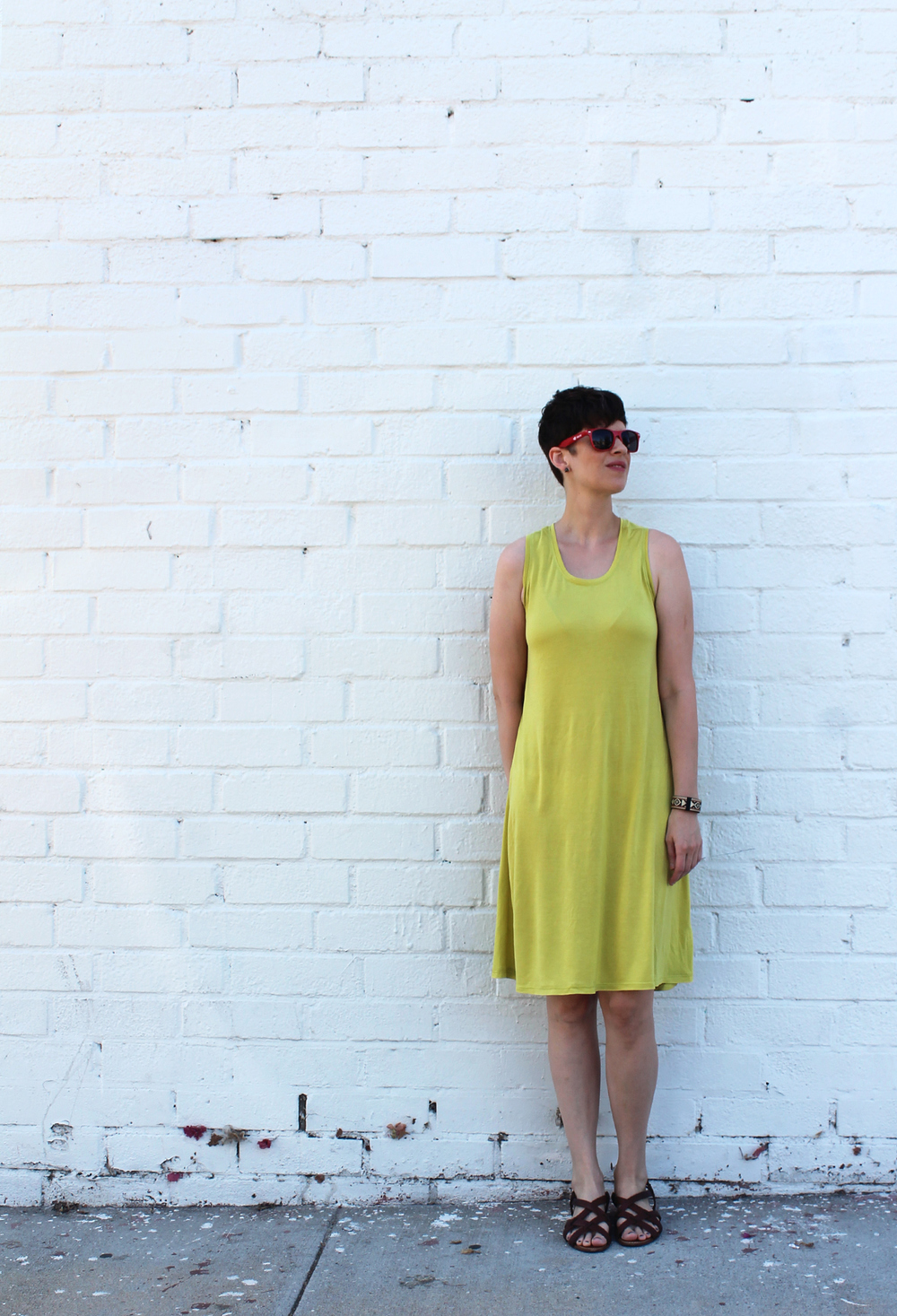 DIY Racerback Dress | Sew DIY