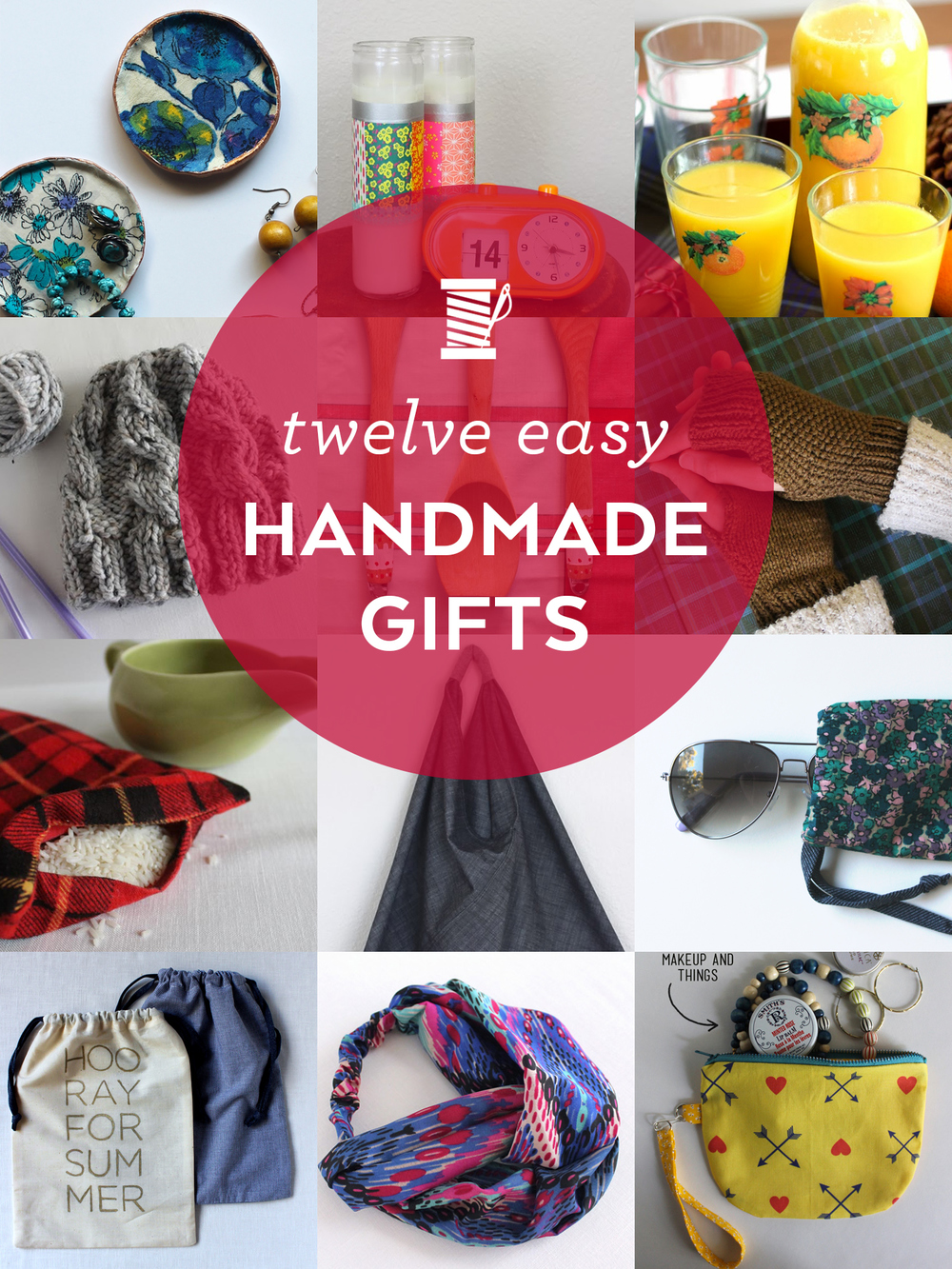 12 Easy Handmade Holiday Gifts | Sew DIY