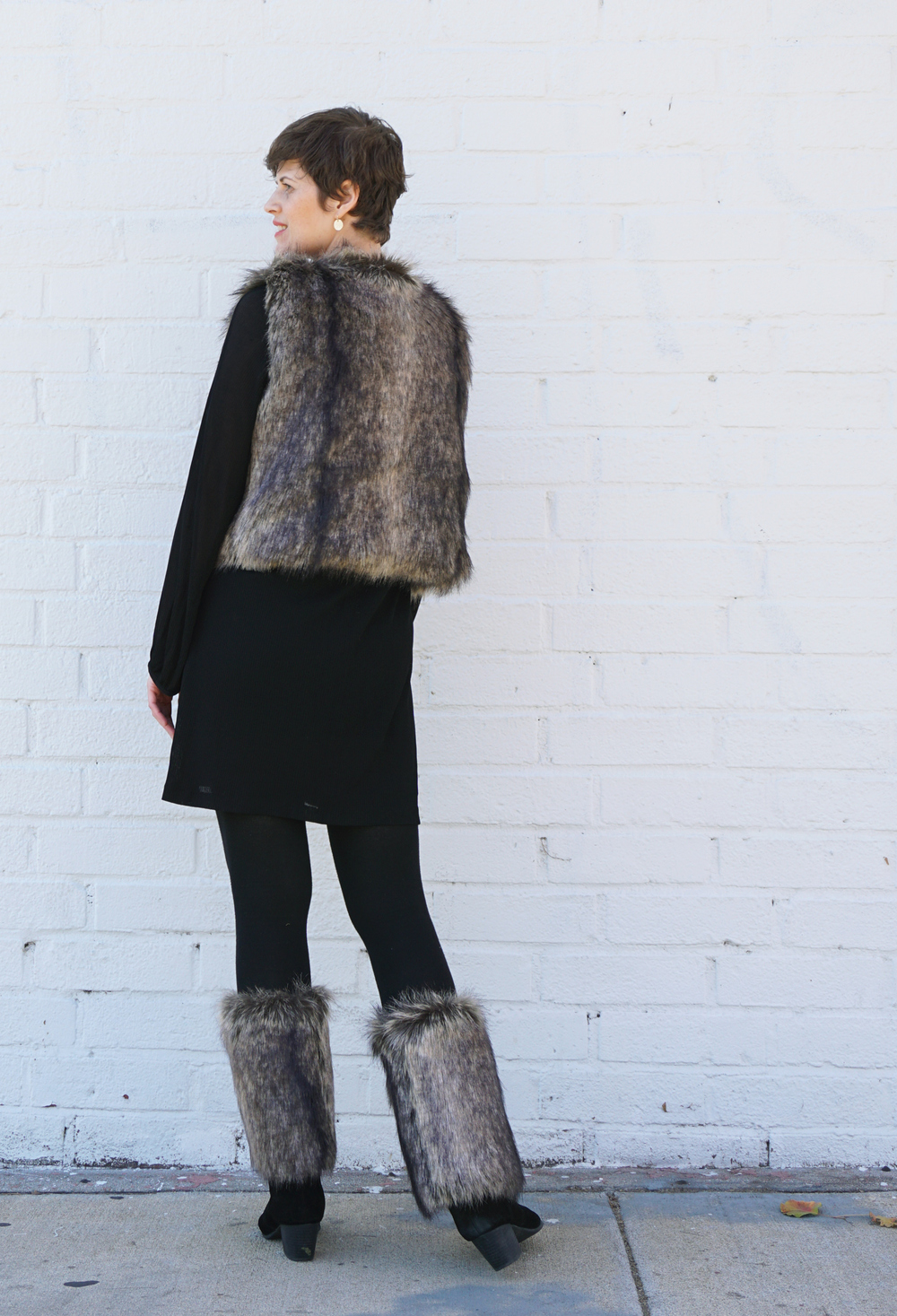 DIY Fur Vest | Sew DIY