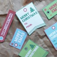 Free Christmas Hangtag Printable