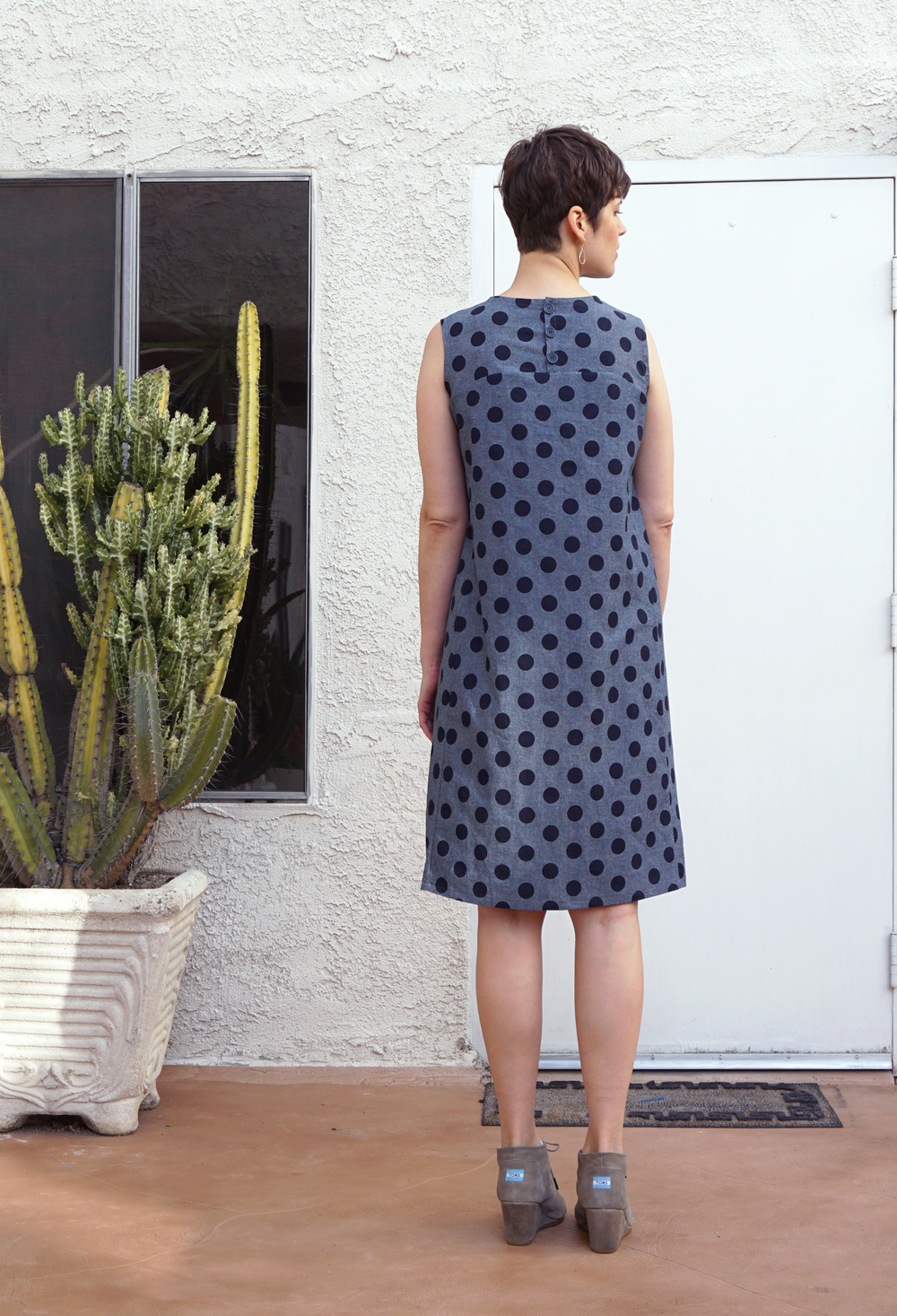 DIY Polka Dot Rushcutter Dress | Sew DIY
