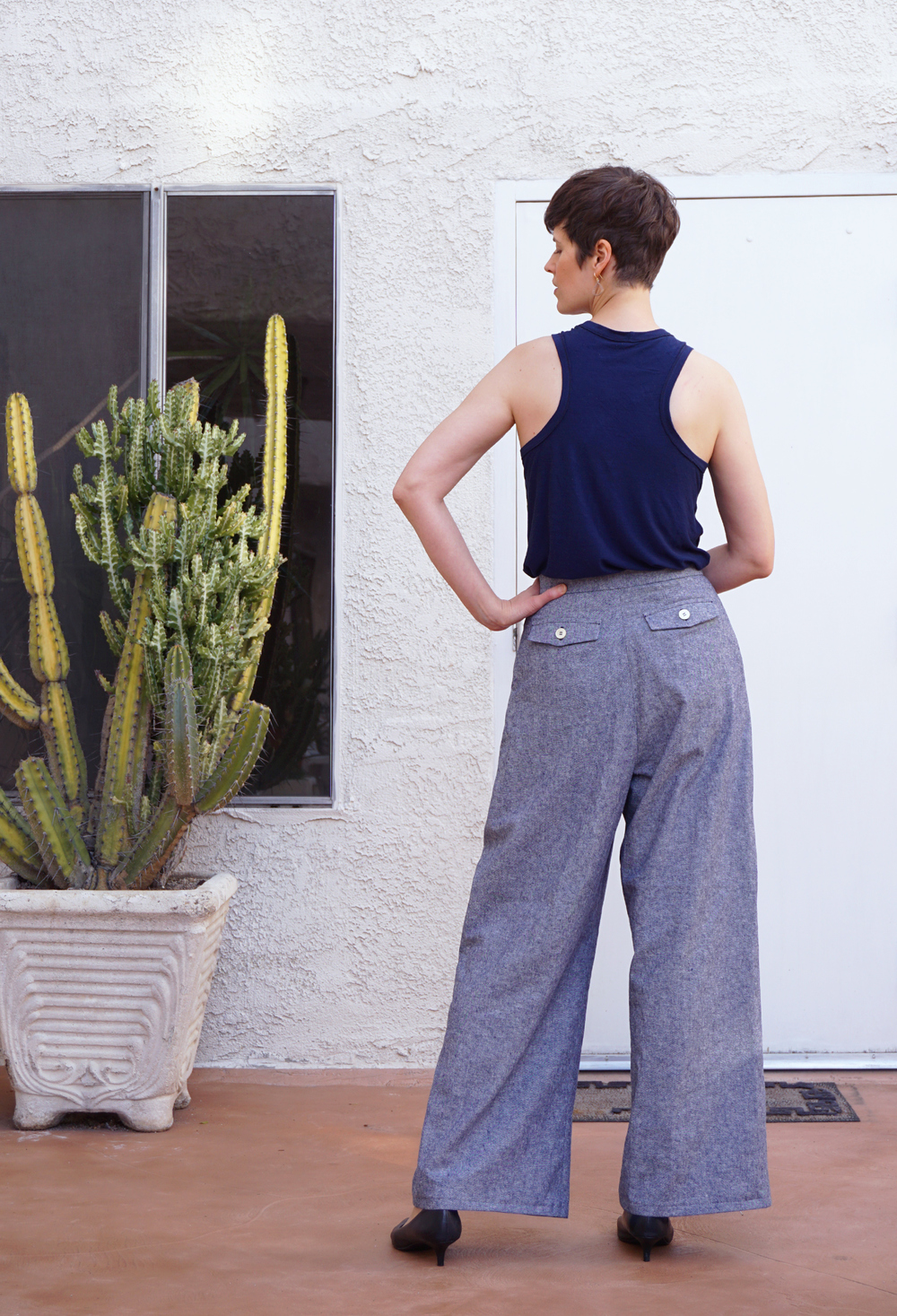 DIY Wide Leg Pants Vogue V8836 | Sew DIY