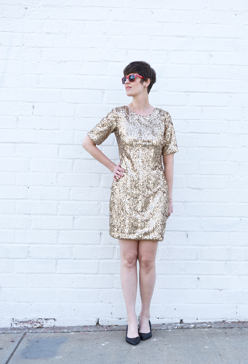 DIY Sequin Mesa Dress | Sew DIY