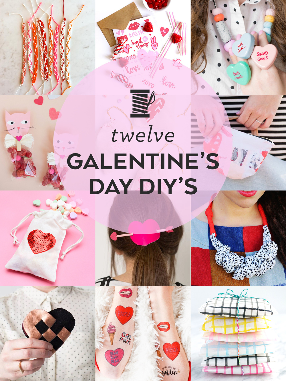 12 DIY's for Galentine's Day | Sew DIY