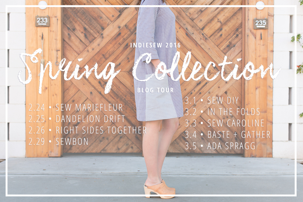 Indiesew Spring Collection 2016 Blog Tour