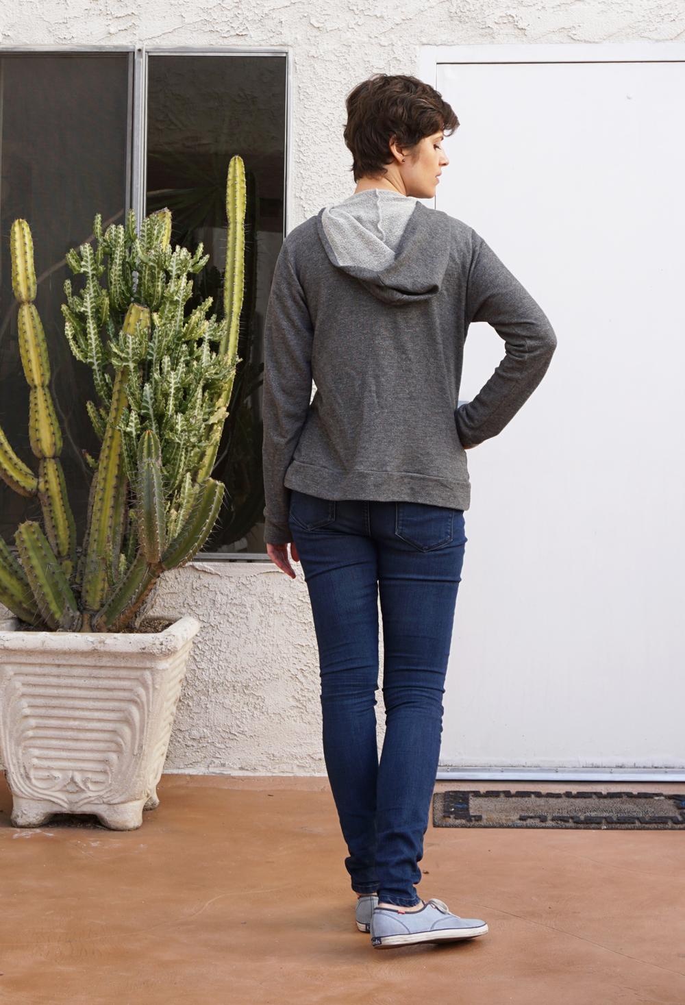DIY Neon Zip Hoodie – Halifax Hoodie pattern by Hey June | Sew DIY