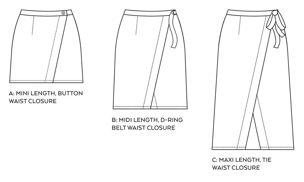 Pattern Launch! Nita Wrap Skirt — Sew DIY
