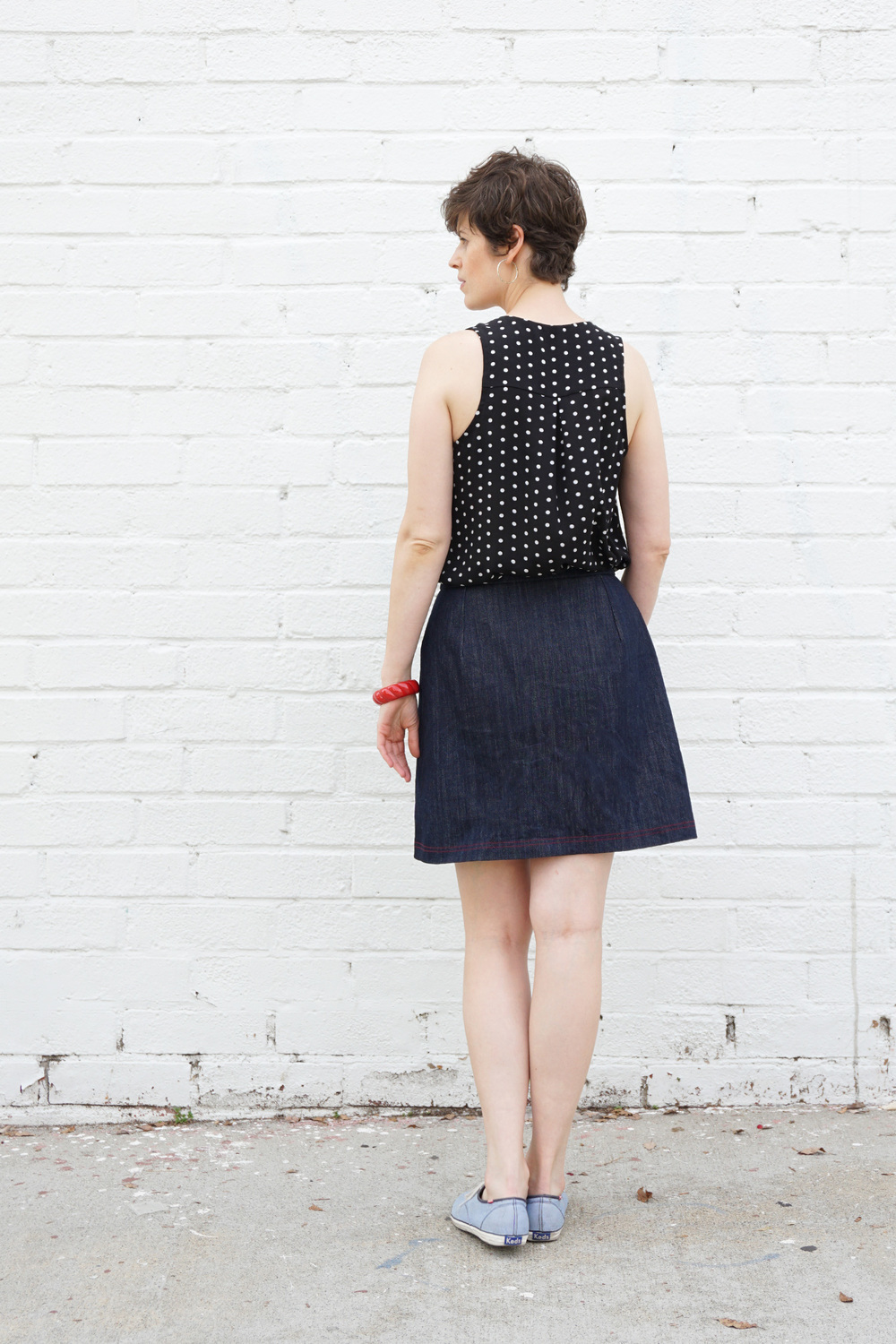 Nita Wrap Skirt PDF Pattern | Sew DIY