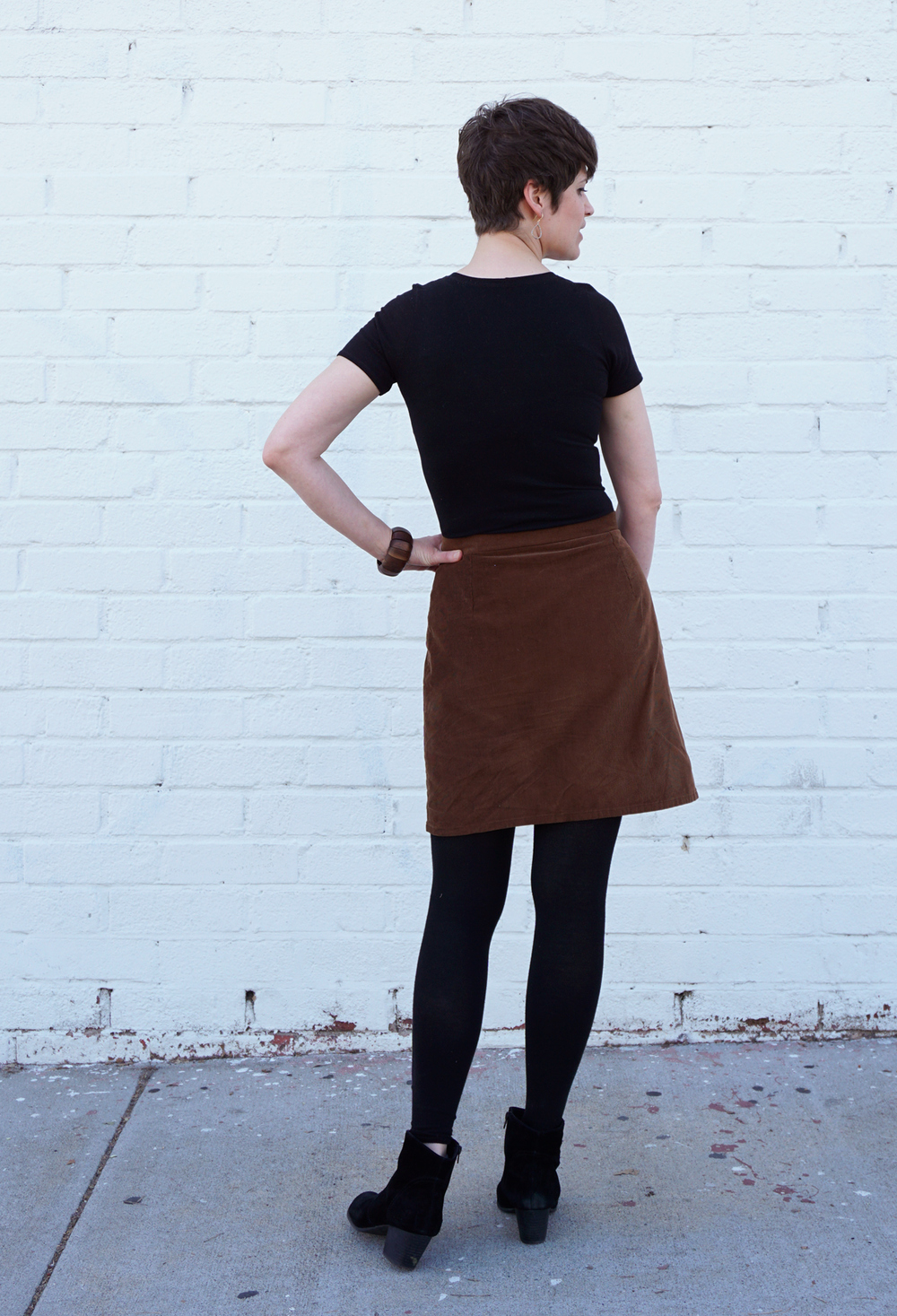 DIY Wardrobe, Nettie Bodysuit and Nita Wrap Skirt | Sew DIY