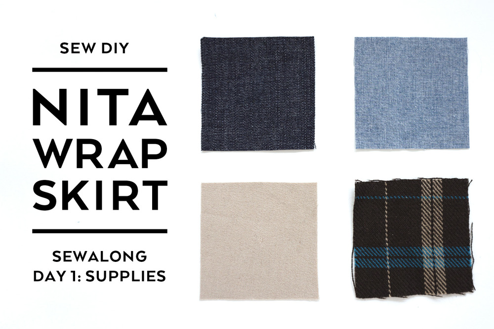Nita Wrap Skirt Sewalong Day 1: Supplies | Sew DIY