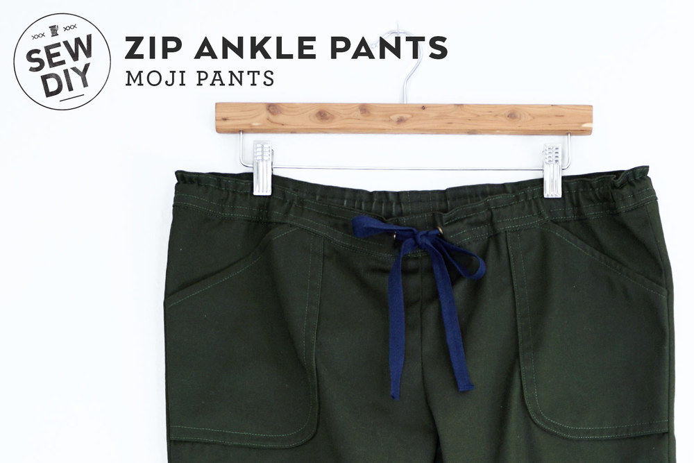 DIY Zip Ankle Moji Pants | Sew DIY