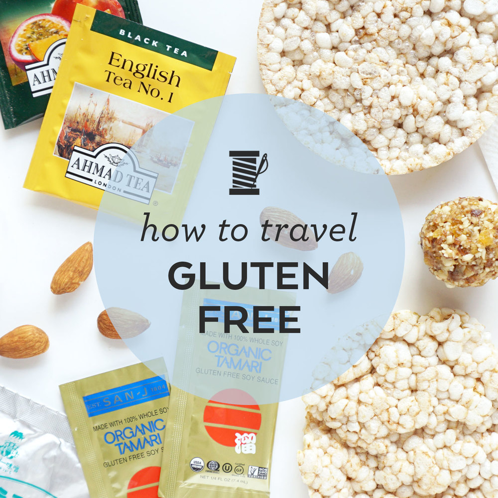 Tips for how to travel gluten free | Sew DIY