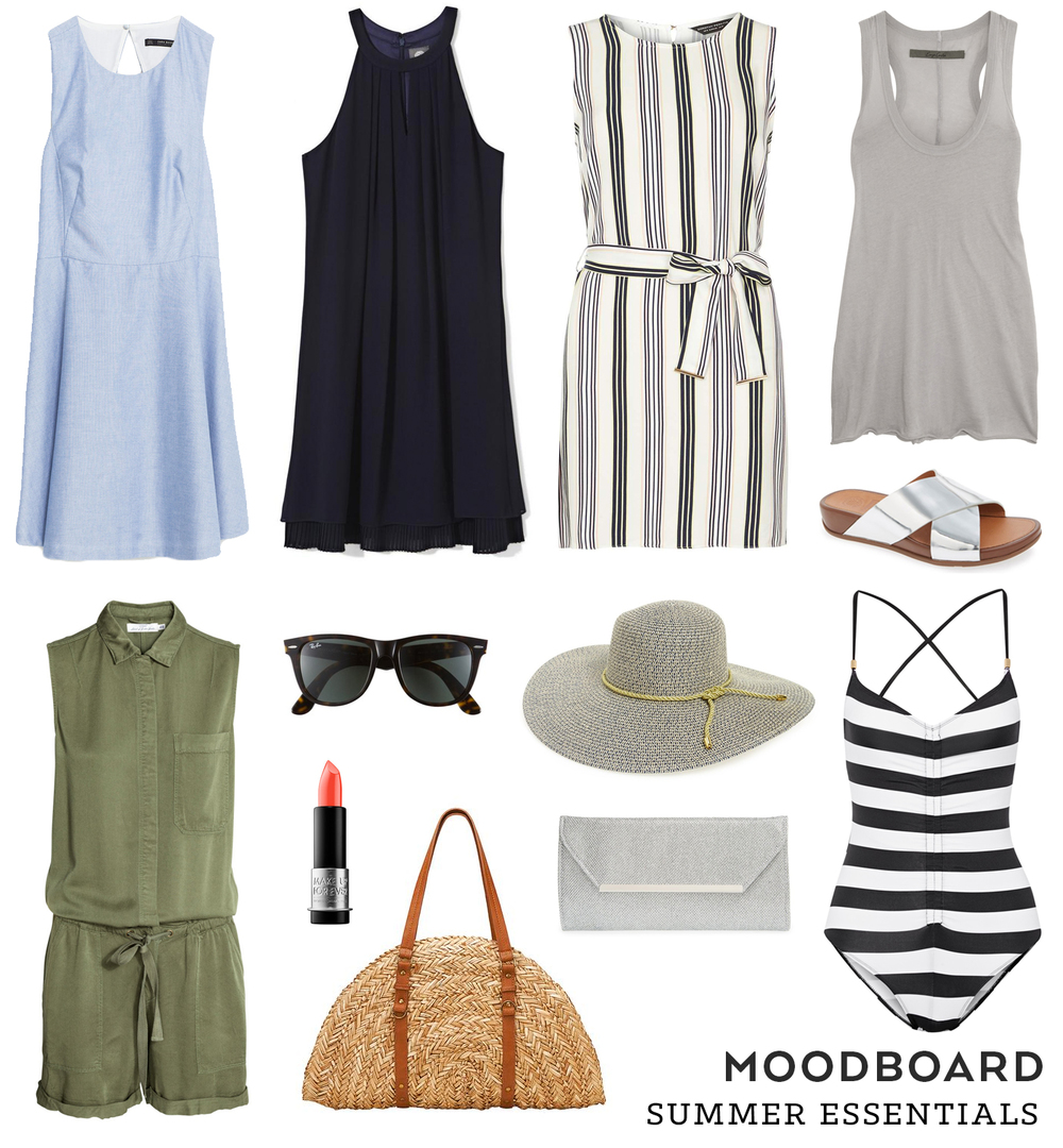 Summer Essentials Moodboard | Sew DIY