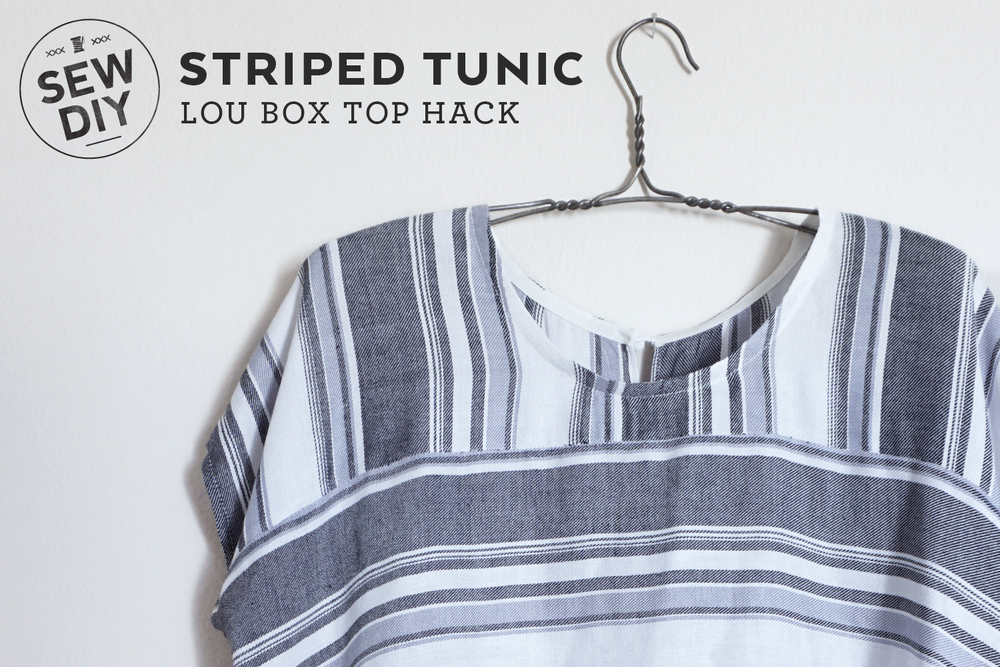 DIY Lou Box Top Tunic Hack | Sew DIY