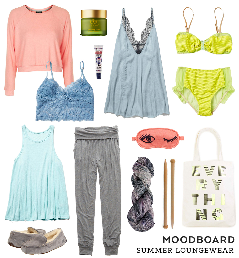 Moodboard – Summer Loungewear | Sew DIY