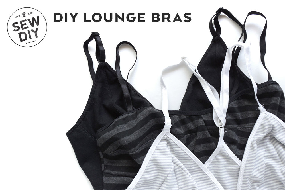 DIYI Lounge Bras, 4 patterns reviewed | Sew DIY