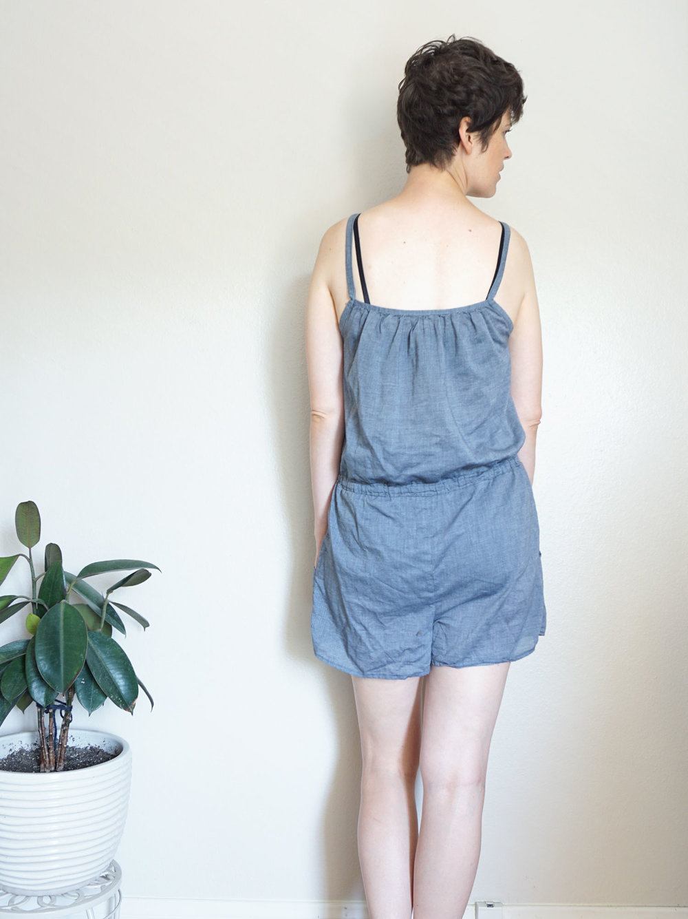 DIY Strappy Romper Refashion | Sew DIY