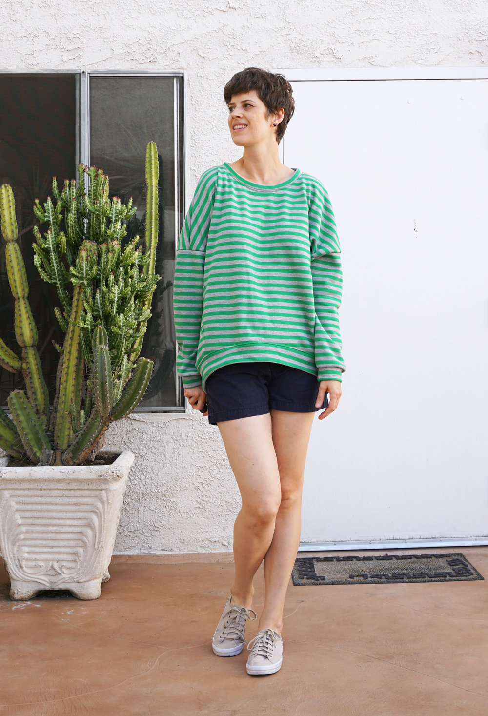 DIY Oversized Sweatshirt – Catrin pattern by Schnittechen | Sew DIY