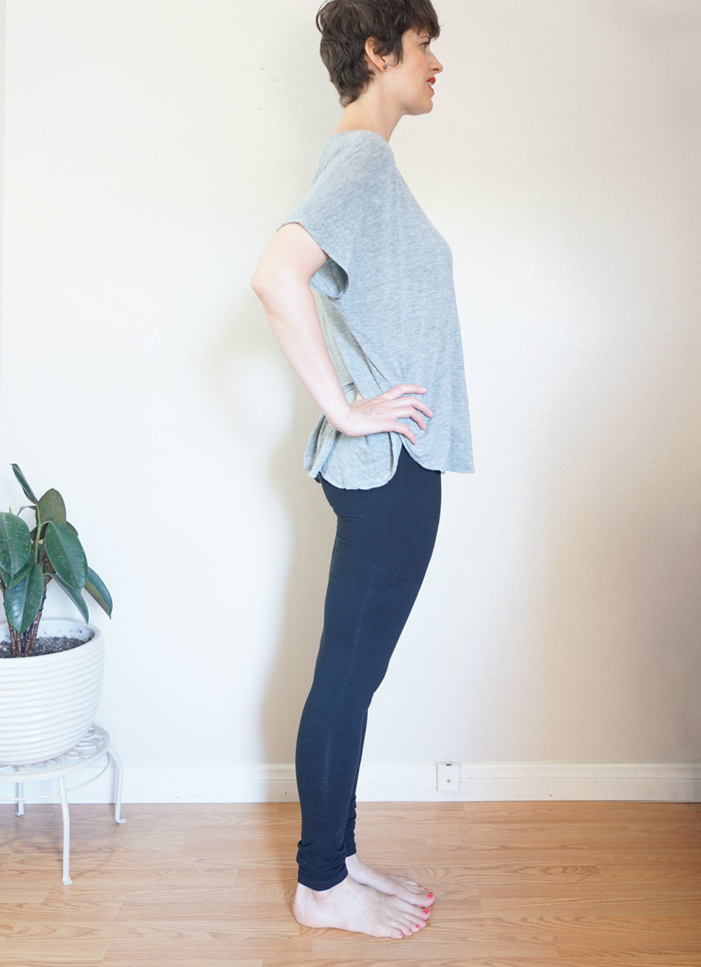 DIY Extra Long Leggings, pattern review of Virginia Leggings by Megan Nielsen | Sew DIY