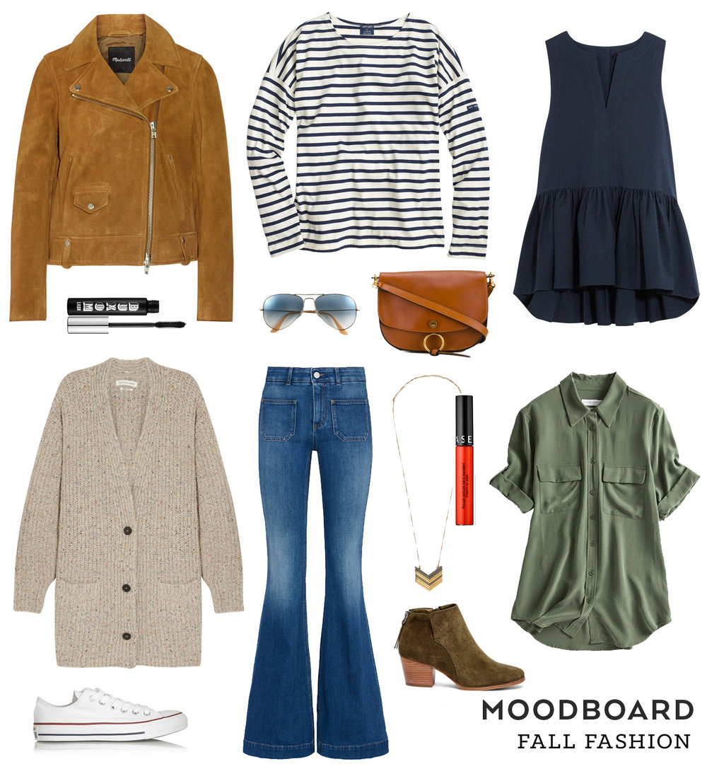 Fall Fashion Moodboard | Sew DIY