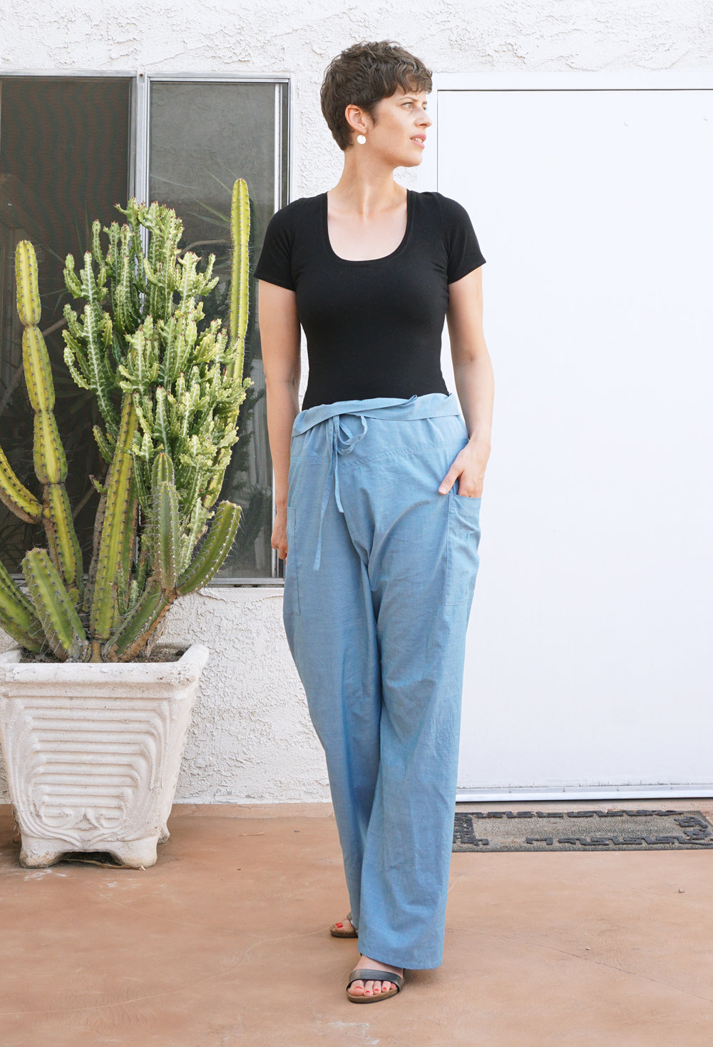 Style Maker Fabrics Fall Blog Tour - Nehalem Pants | Sew DIY