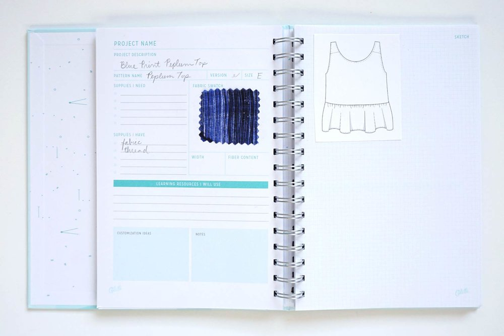 Image result for colette sewing planner