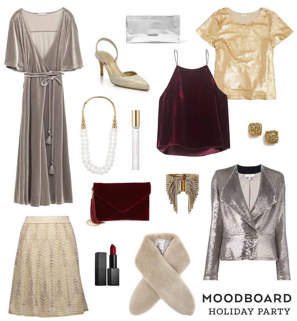 Moodboard – Holiday Party | Sew DIY