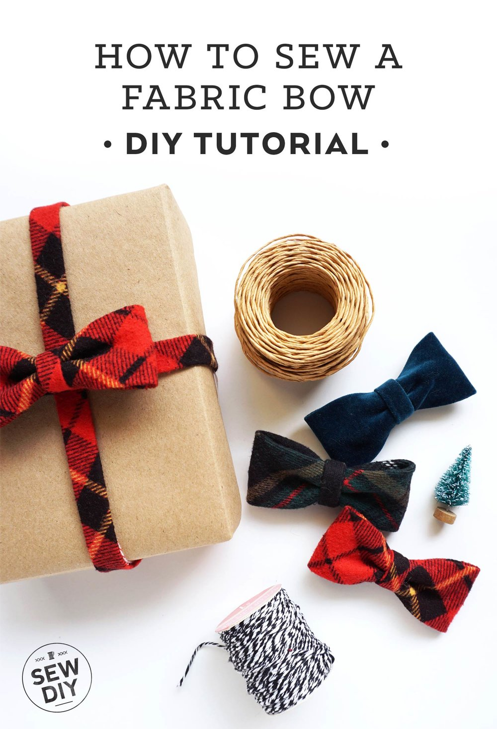 How to Sew a Fabric Bow | Sew DIY