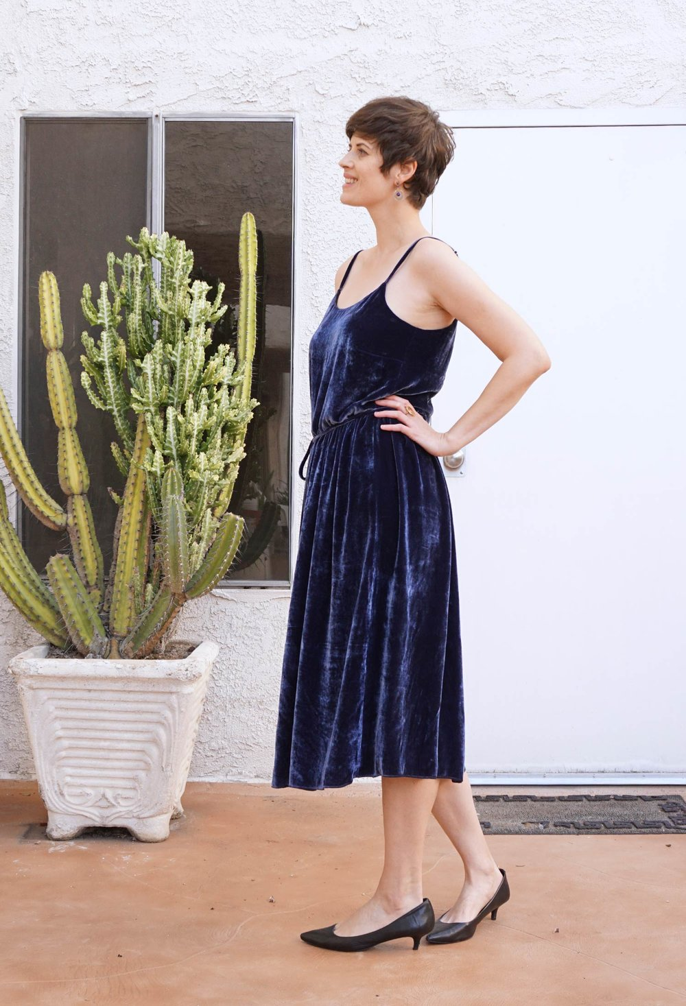 DIY Velvet Slip Dress – Catarina Dress by Seamwork | Sew DIY