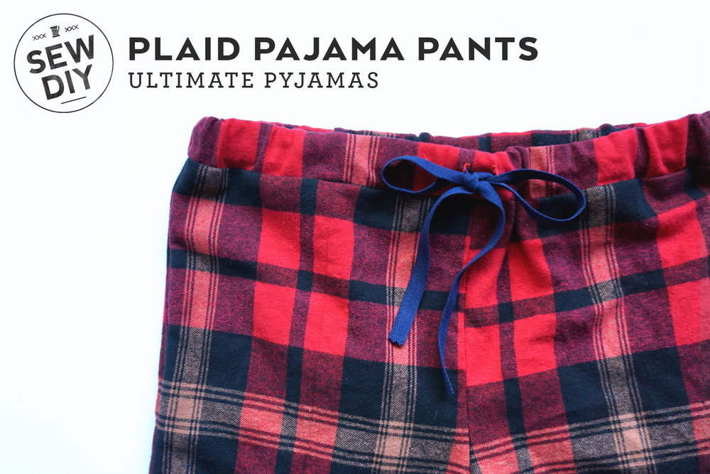 Diy Pajama Bottoms Review Of The Sew Over It Ultimate Pyjamas