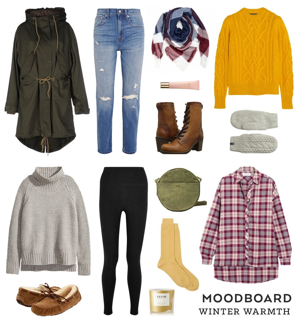 Moodboard – Winter Warmth | Sew DIY