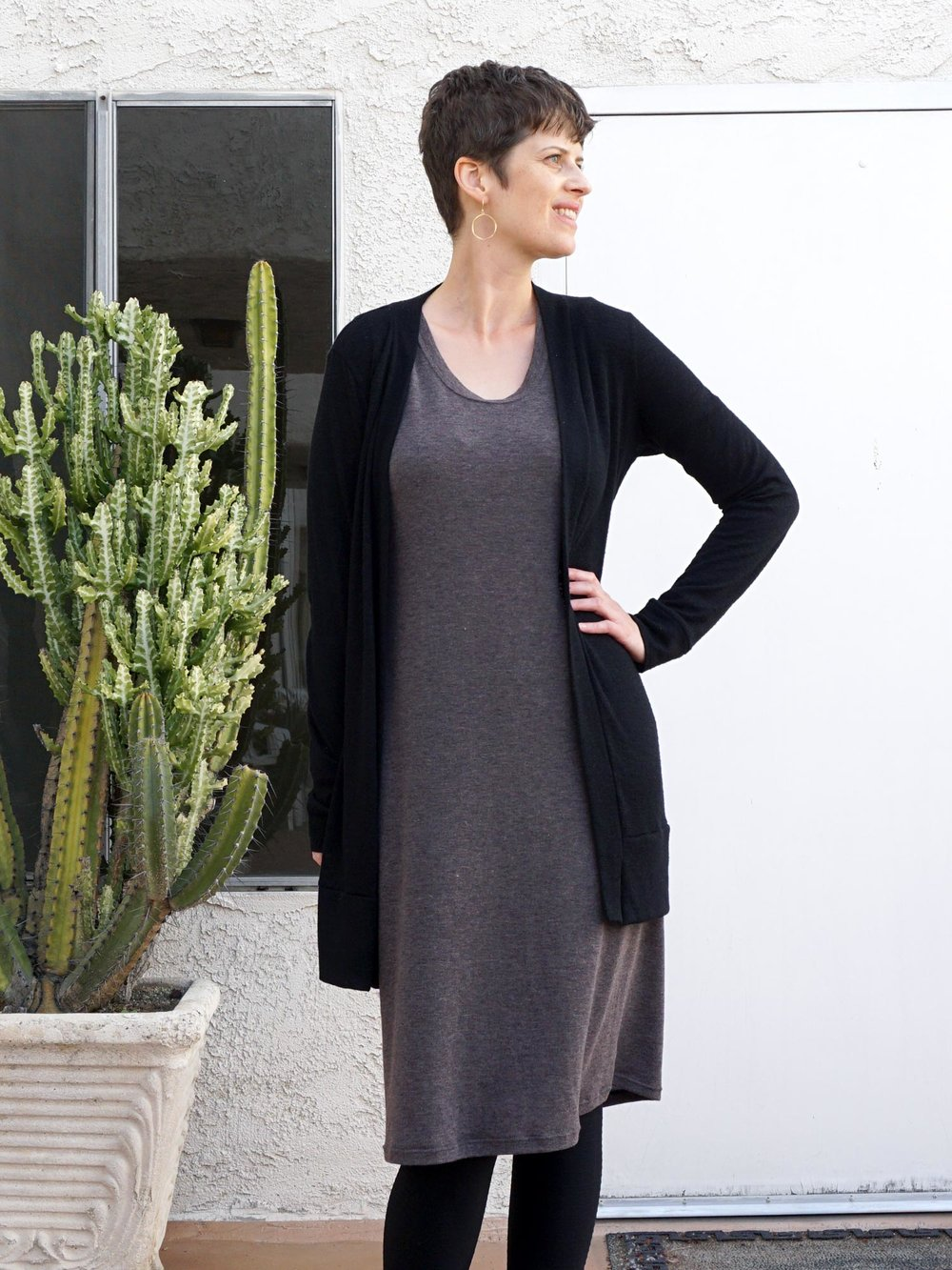 My DIY Travel Outfit – Neenah Dress & Blackwood Cardigan | Sew DIY