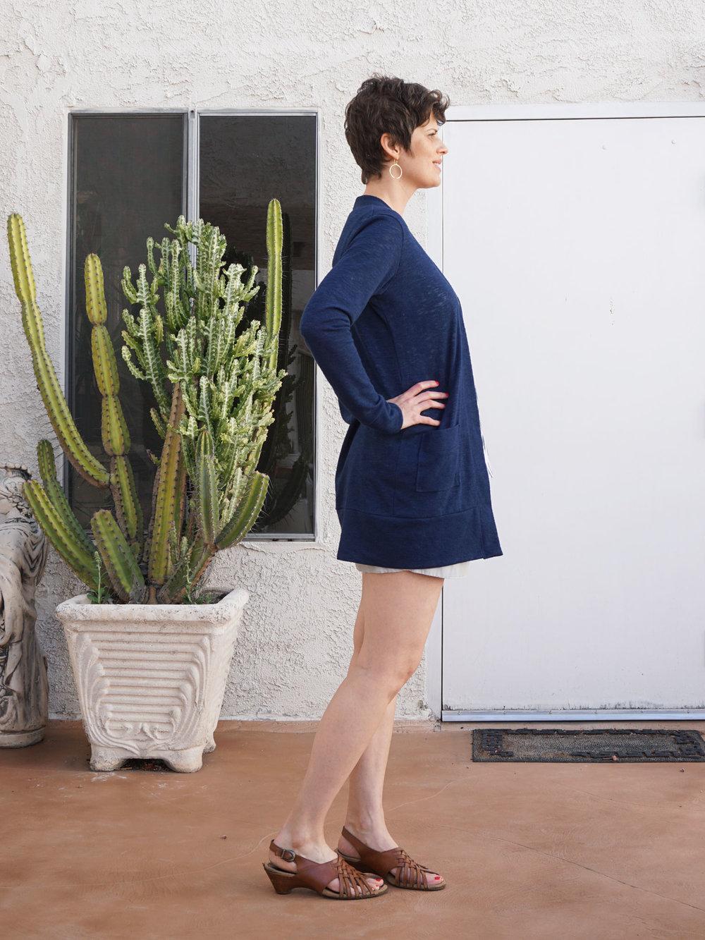 DIY Long Everyday Cardigan | Sew DIY