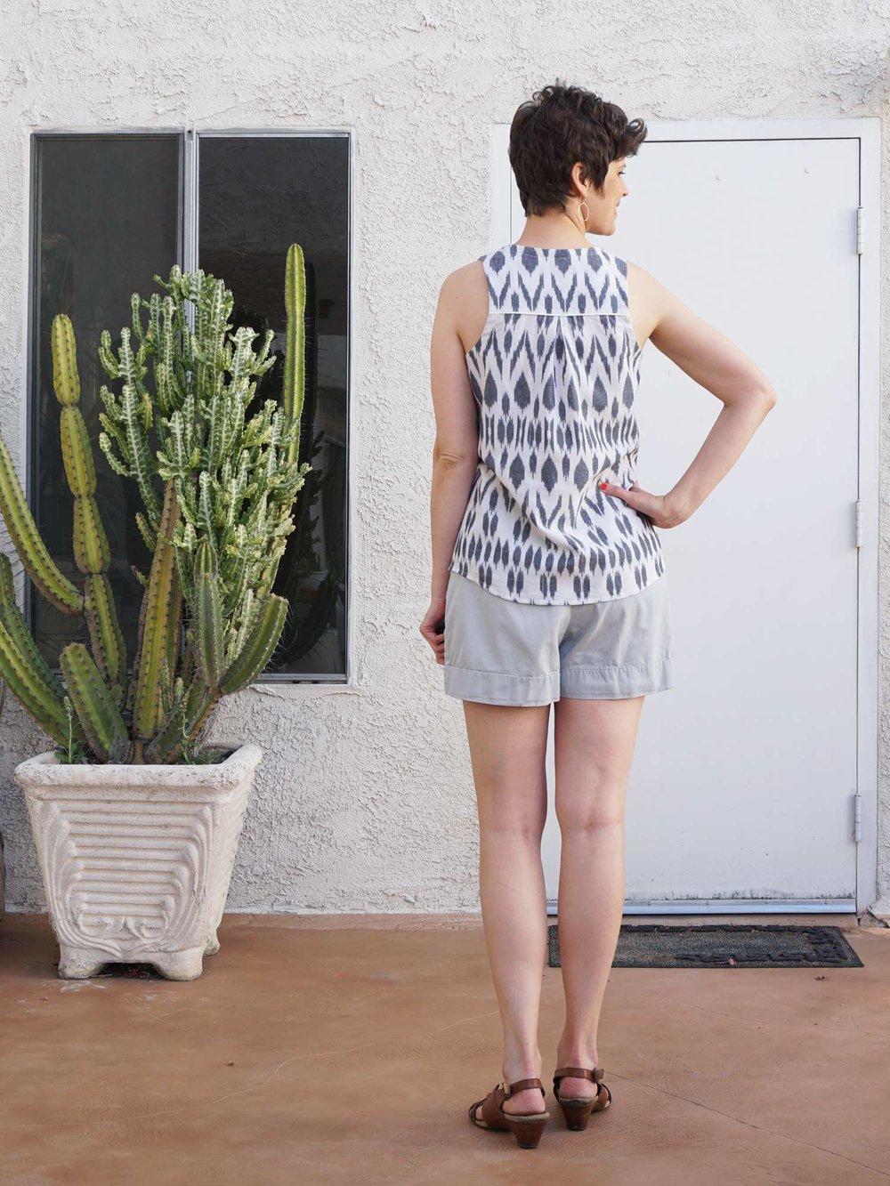 DIY Ikat Print Ella Top | Sew DIY