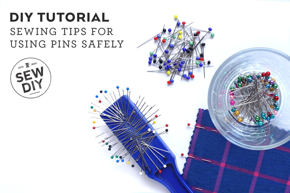 Sewing Tips for Using Pins Safely | Sew DIY