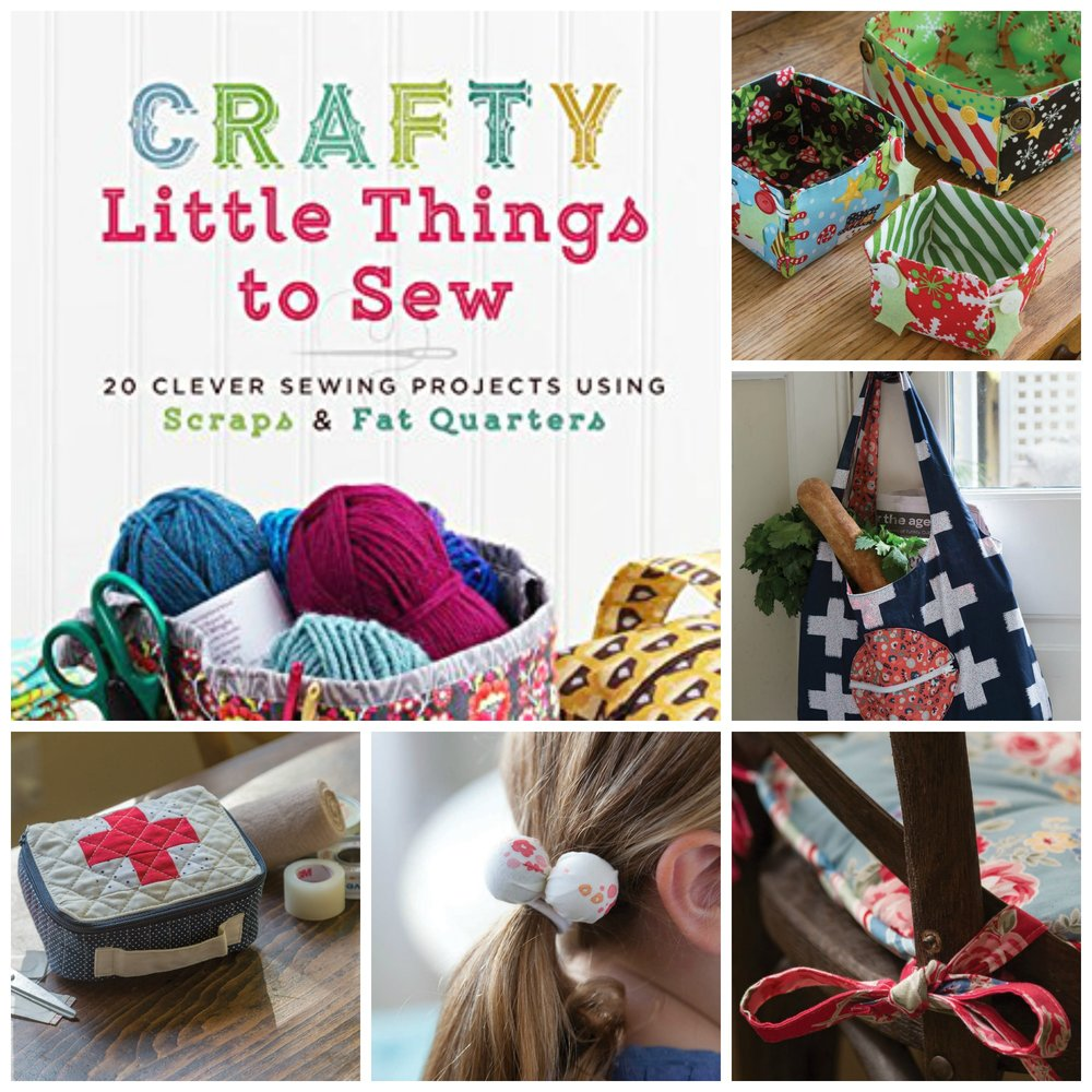 Crafty Little Things to Sew – Giveaway and Blog Hop