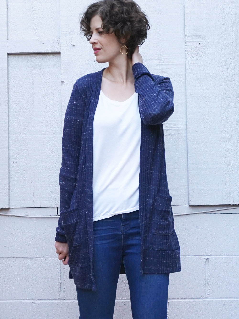 DIY Layering Cardigan – The Blackwood Cardigan by Helen's Closet | Sew DIY