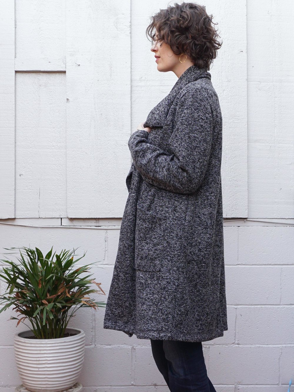 DIY Boucle Coatigan – Review of the Jill Coat by Seamwork